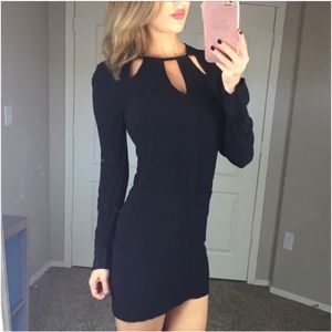 BCBGMAXAZRIA xs dress emmalise cocktail cutout